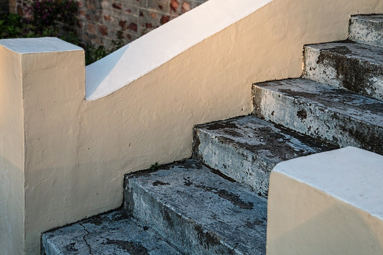 stairs, steps, staircase